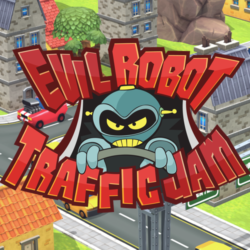 Evil Robot Traffic Jam Trailer